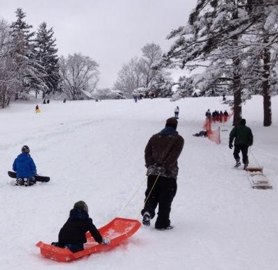 Snow days Cunningham